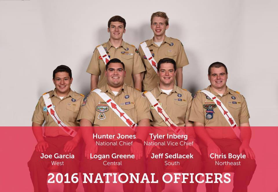 2016 National Officers
